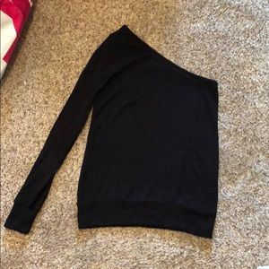 Abercrombie and Fitch one armed sweater